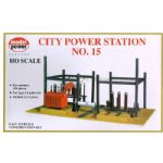 Model Power 416 City Power Station No.15 Building Kit